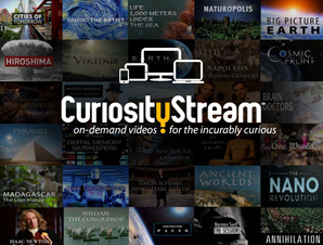 Curiosity Stream Science Documentary Ad